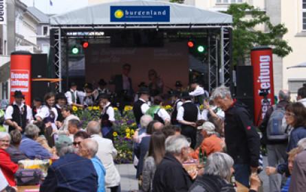 Das Burgenland zu Gast in Linz