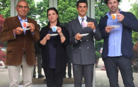 D,M&B trinkt Hausbrandt Kaffee