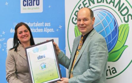Green Brands startet Auszeichnungsverfahren