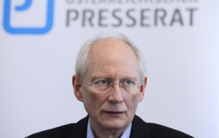 Journalisten-Gewerkschaftschef Bauer zieht sich 2018 zurück