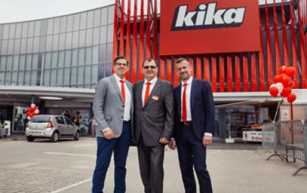kika in Eisenstadt feiert Neueröffnung