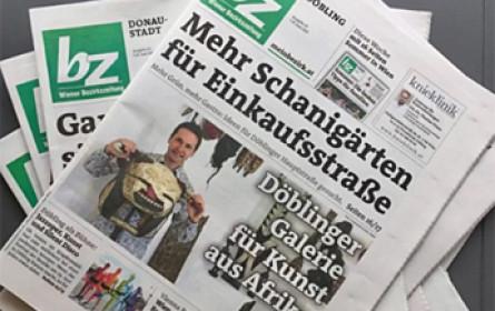 """""""bz""""-Wiener Bezirkszeitung"""": Spezial-Ausgabe  Infos zum Sommer als Sonderbeilage."""