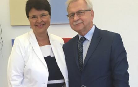 Wirtschaftsdelegation aus Polen in Wien