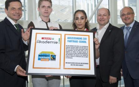 Spar Akademie Wien ist Fairtrade