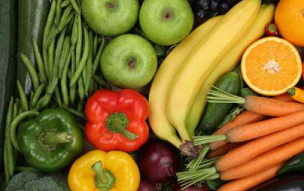 58% essen täglich Obst und Gemüse