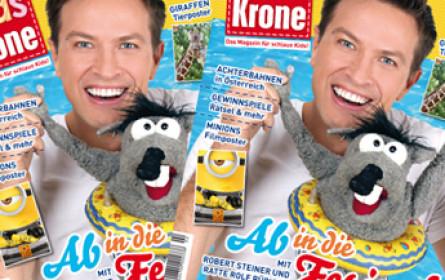 """""""Kids Krone"""" reloaded: Der Knirps der """"Krone"""" erscheint im neuen Design"""