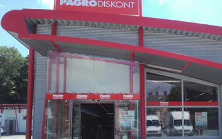 Pagro Diskont eröffnet in Pressbaum