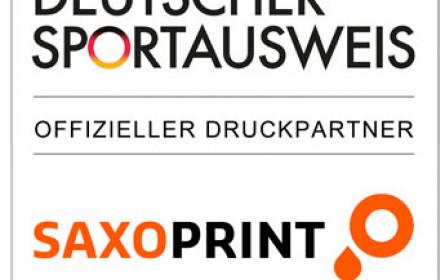 "Saxoprint bleibt ""Nationaler Förderer"" des organisierten Sports"