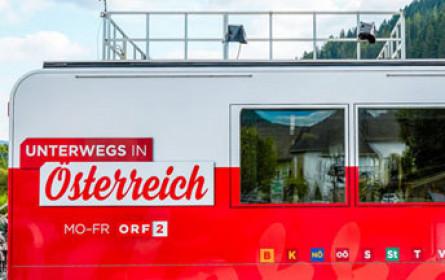 """""""Unterwegs in Österreich"""": Neue Nachmittagsschiene auf ORF 2 startet"""