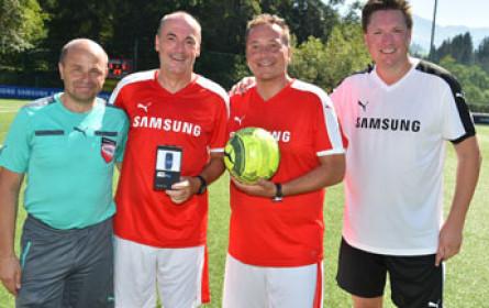 ProSiebenSat.1 Puls 4 und Samsung Charity Soccer Match