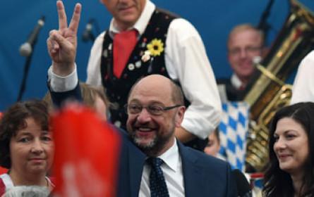 Panne bei SPD: Erfolg von Schulz im TV-Duell gegen Merkel vermeldet