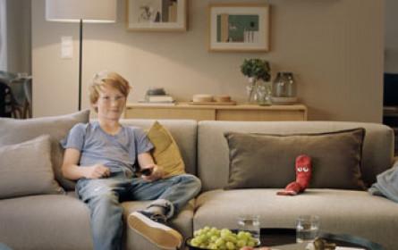 Coole Socke wird neues Werbegesicht von simpliTV