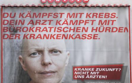 Sujet mit Krebskranker - auch WGKK fordert Kampagnenstopp