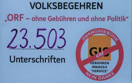 ORF-Volksbegehren vom Innenministerium abgewiesen