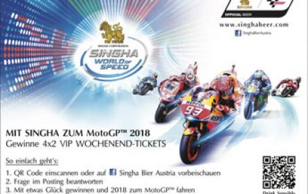 Mit Singha Bier zum Moto GP in Spielberg