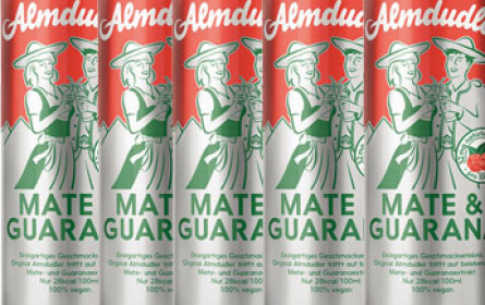 Almdudler Mate & Guarana 1 Million Mal verkauft