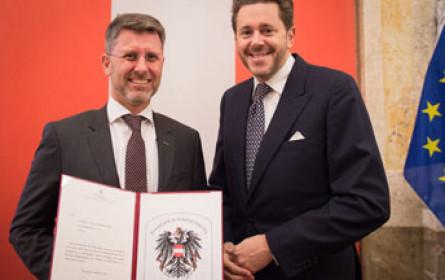 Österreichisches Staatswappen für Schlumberger