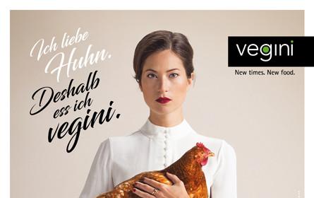 Ich liebe Huhn, deshalb ess ich vegini