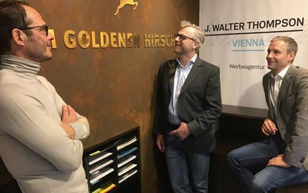 J. Walter Thompson Wien unter dem Dach von Zum goldenen Hirschen