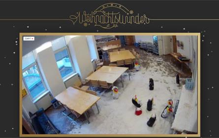 Für ein Weihnachtswunder: Lassen Sie es schneien!