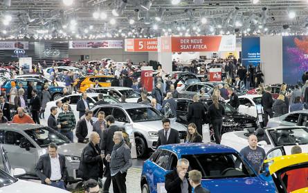 Premieren-Feuerwerk bei der Vienna Autoshow