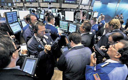 Blick auf die Börsen: Wo geht die Reise heuer hin?