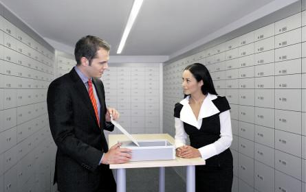 Kundenfoyer und Safes