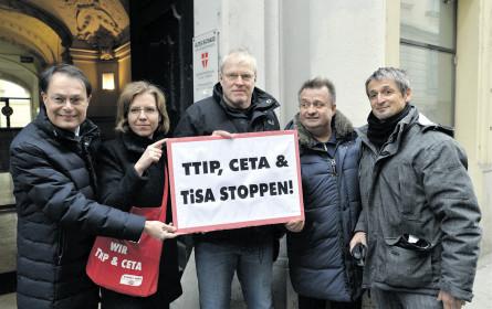 Wer legt sich mit CETA an?