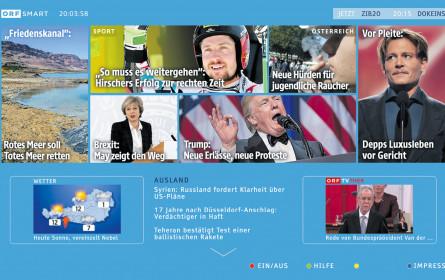 ORF-HbbTV wird nun zu ORF-Smart