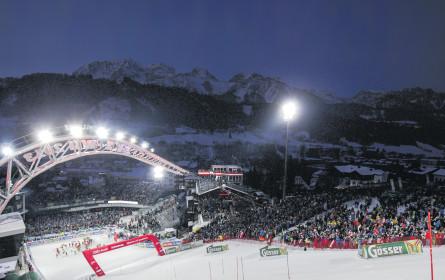 Skifahren ist die Top-Plattform für Sponsoren