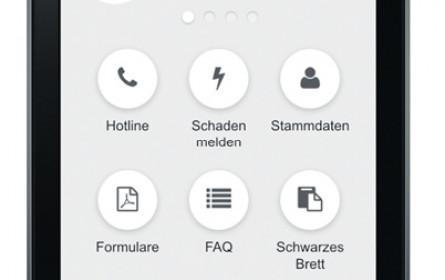 Die Mieter-App der Buwog