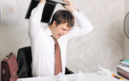 Stress nimmt zu