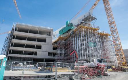 Die Bauwirtschaft bleibt dynamisch
