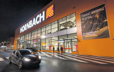 Hornbach zimmert kräftige Umsätze