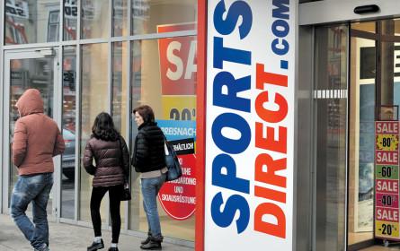 Sports Direct macht weiter