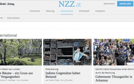 Aus für NZZ.at