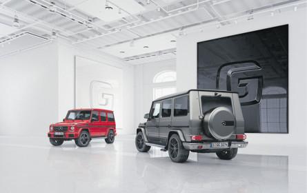 Nachwuchs für Mercedes G-Klasse