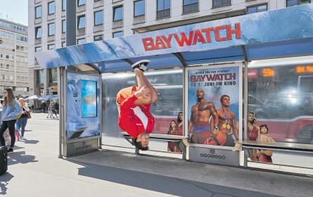 """Baywatch"" am Gewista-City Light"