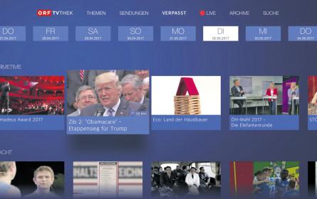 ORF-TVthek nun auch via Apple TV