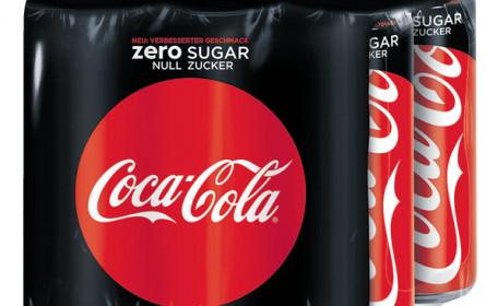 Coke zero bleibt auch weiter ein Hero