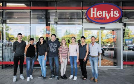 Hervis am Puls der Zeit: Eröffnung in Braunau