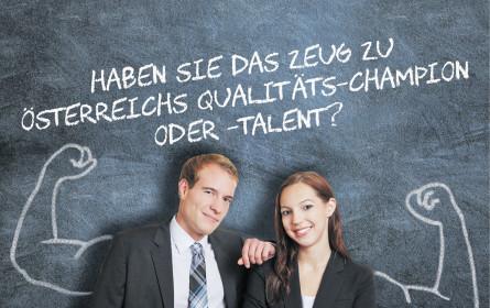Qualitäts-Talente gesucht