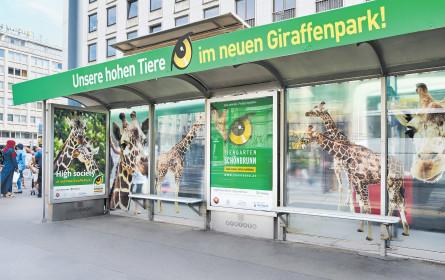 In ganz Wien sind die Giraffen los