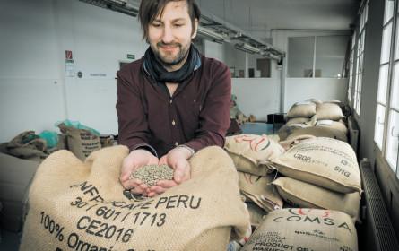Kaffeefabrik geht den direkten Weg zur Bohne