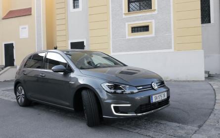 Der VW e-Golf ist E-Force One