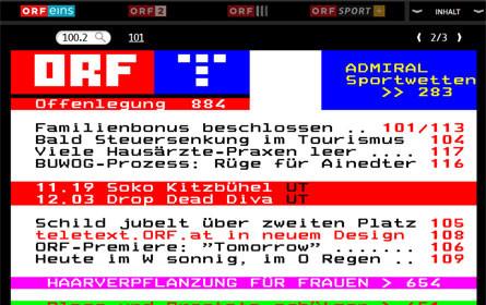 ORF.at in neuem Gewand