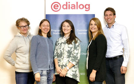 e-dialog erweitert ihr Team