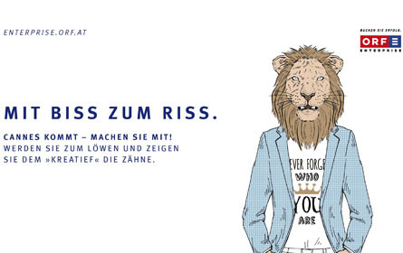 Call for Entry für Cannes Lions International Festival of Creativity