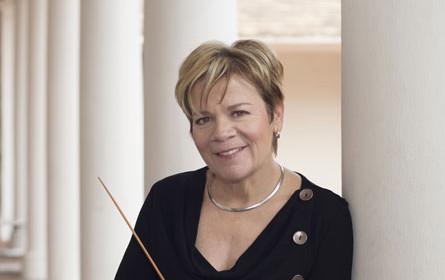 Mit Marin Alsop wird erstmals eine Frau RSO-Chefin
