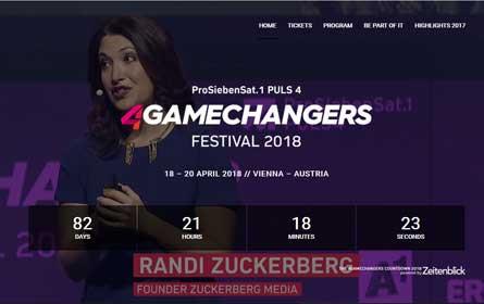 Das 4Gamechangers Festival rückt näher